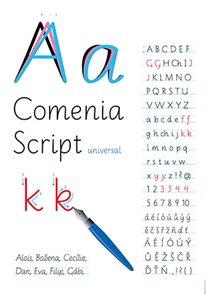 Výukový plakát - Comenia Script 100×70