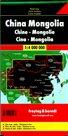 Čína Mongolsko 1:4 000 000