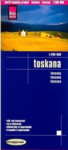 Toskánsko - mapa Reise Know-How 1:200t.
