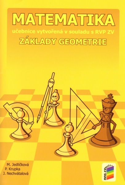 Matematika 6 - Základy geometrie - učebnice /NOVÁ ŘADA/