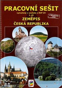 Zeměpis 8.r. ZŠ 2. díl - Pracovní sešit Česká republika v souladu s RVP ZV