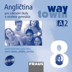 Angličtina 8 Way to Win - audio CD pro žáka