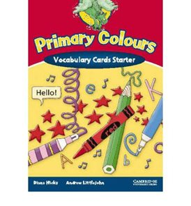 Primary Colours Starter Vocabulary Cards