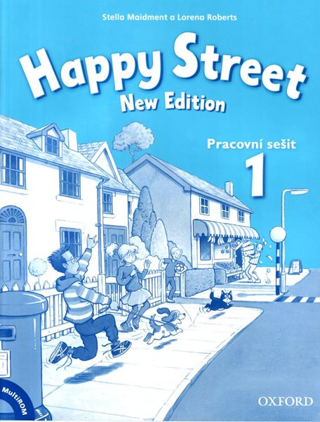 Happy Street 1 NEW EDITION Activity Book with MULTIROM Pack CZ - Stella Maidment , Lorela Roberts - 22 × 27,5 cm
