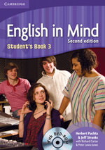 English in Mind 3 Students Book + DVD, 2. edice - A4