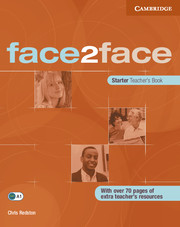Face2face Starter Teachers Book - Chris Redston - A4