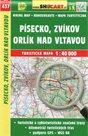 Písecko, Zvíkov, Orlík nad Vltavou -  mapa SHOCart č.437 - 1:40 000