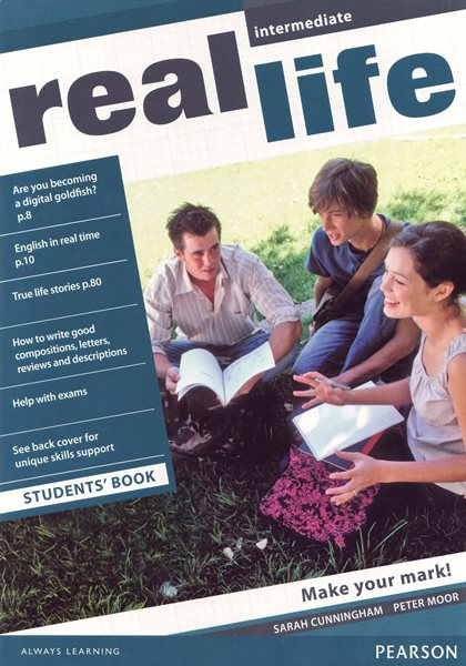 Real Life Global ! Intermediate Students Book CZ - Sarah Cunningham, Jonathan Bygrave - 297 × 210 × 7 mm