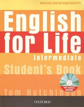 English for Life Intermediate Students Book + MultiROM - Tom Hutchinson - 280 x 220 x 6 mm, Sleva 20%