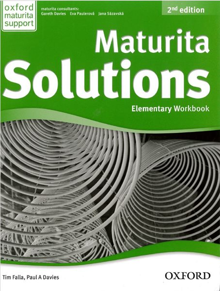 Maturita Solutions Elementary Workbook CZ + CD, 2.ed. - Tim Falla, P.A. Davies - 220 x 275 x 15 mm