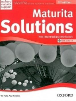Maturita Solutions Pre-Intermediate Workbook CZ + CD, 2. edice - Falla T., Davies P.A. - 222 x 275 x 10 mm