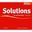 Maturita Solutions Pre-Intermediate Class Audio CDs, 2. edice