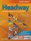New Headway Pre-Intermediate Maturita SB + iTUTOR DVD- Rom CZ, 4. edice