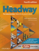 New Headway Pre-Intermediate Maturita SB + iTUTOR DVD- Rom CZ, 4. edice - 218x275 mm