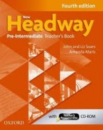New Headway Pre-Intermediate Teachers Book, 4. edice - John Soars, Liz Soars - 216x275 mm