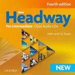 New Headway Pre-Intermediate Class Audio CDs, 4. edice