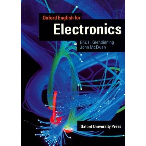 Oxford English for Electronics Students Book - Glendinning E., McEwan J. - 186x265