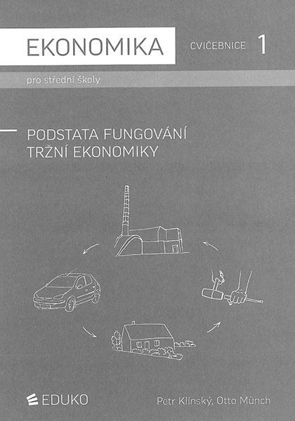 Ekonomika pro SŠ-Cvičebnice 1 - Podstata fungování tržní ekonomiky - Klínský Petr, Münch Otto - A4
