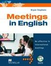 Meetings in English + CD