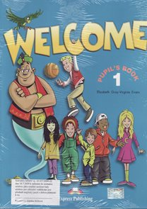 Welcome 1 - Pupils Books + audio CD + Alphabet Book