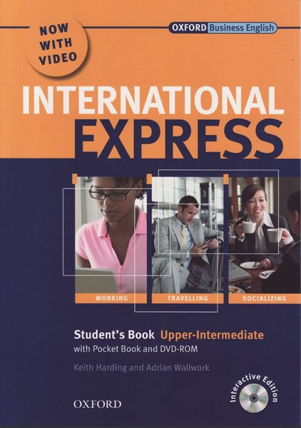 International Express Upper Intermediate Students Book with Pocket Book and DVD- Rom - Harding Keith and Wallwork Adrian