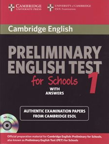 Preliminary English Test for Schools 1 with Answers + Audio DCs(2) Study Pack