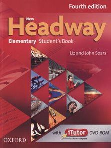 New Headway Fourth Edition Elementary Students  book + iTUTOR DVD-ROM