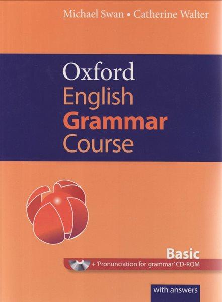 Oxford English Grammar Course - Basic with ansvers + CD- ROM - Swan Michael, Walter Catherine - 265×190, brožovaná