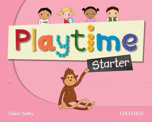 Playtime - Starter - Class Book, učebnice angličtiny pro MŠ - Selby Claire - A4, brožovaná
