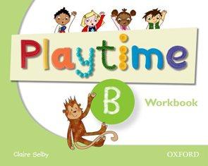 Playtime - Level B - Work Book, pracovní sešit angličtiny pro MŠ