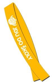 Šerpa - Jdu do školy - oranžová