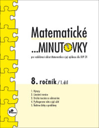 Matematické minutovky 8.r. 1.díl