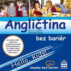 Angličtina bez bariér pro 3. ročník ZŠ - CD-ROM pro dyslektiky