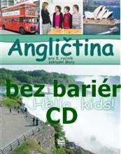 Angličtina bez bariér pro 5. ročník ZŠ - CD-ROM pro dyslektiky