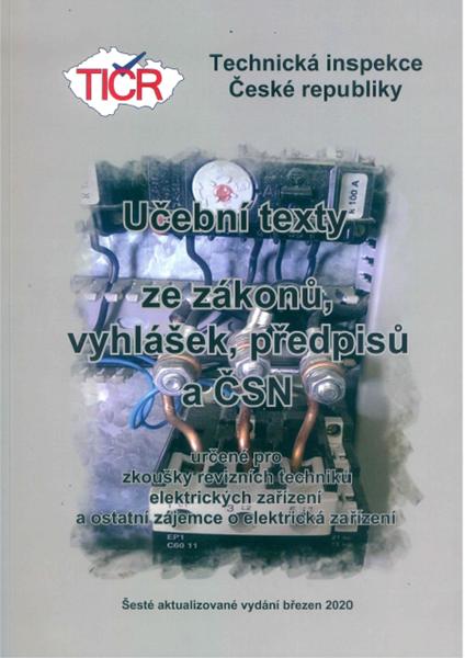 Učební texty ze zákonů, vyhlášek, předpisů a ČSN, 6. aktualizované vydání - Vozobule Josef Ing. - A4