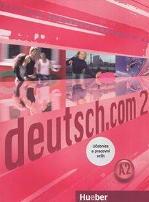 Deutsch.com 2 A2 - učebnice + pracovní sešit