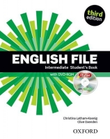 English File Intermediate 3. vydání Students Book + iTUTOR DVD-ROM