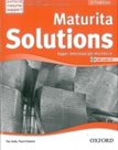 Maturita Solutions - Second Edition Upper-Intermediate Worbook with AUDIO CD Packt (CZ)