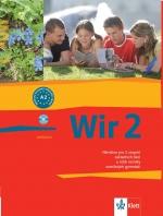 Wir 2 učebnice- Němčina po 2.stupeň ZŠ /A2/ nové vydání