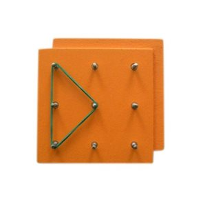 Geodeska oranžová pomůcka pro výuku matematiky /K051/
