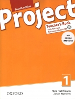Project 1 - Fourth Edition Teacher´s Book with Online Praktice Pack - Hutchinson T., Rezmuves Z. - 220×275 cm, brožovaná