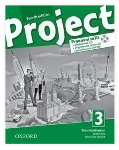 Project 3 - Fourth Edition - Pracovní sešit  wih Audio CD Czech Edition