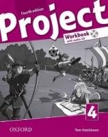 Project 4 - Fourth Edition - Pracovní sešit with Audio CD Pack (CZ) - Hutchinson T. - 220×275 cm