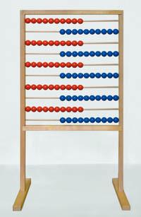 Počítadlo dřevěné - velké 770 × 1425 mm