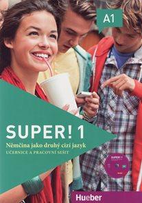 Super ! 1 učebnice a pracovní sešit + CD / Němčina jako druhý cizí jazyk/