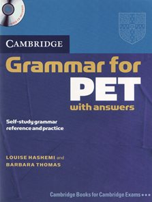 Cambridge Grammar for PET SB with answers + audio CD