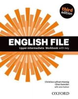 English File Upper Intermediate Third Ed. Worbook with key