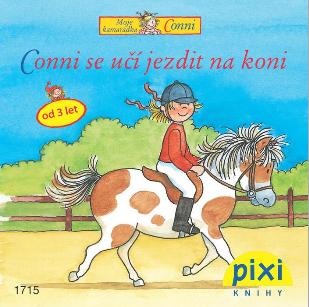 Dobrodružství s Conni - Conni se učí jezdit na koni - Schneider Liane - 10x10
