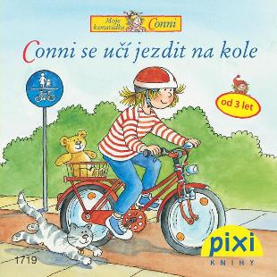 Dobrodružství s Conni - Conni se učí jezdit na kole - Schneider Liane - 10x10