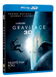 Gravitace 2 DVD (2Blu-ray 3D+2D) - Alfonso Cuarón - 13×19